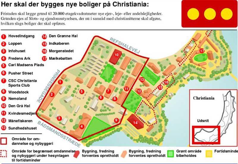 Bygningsstyrelsen Christiania Christianshavn
